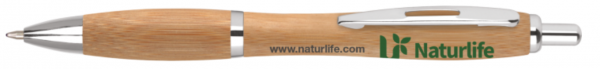 Contour Wood Ball Pen